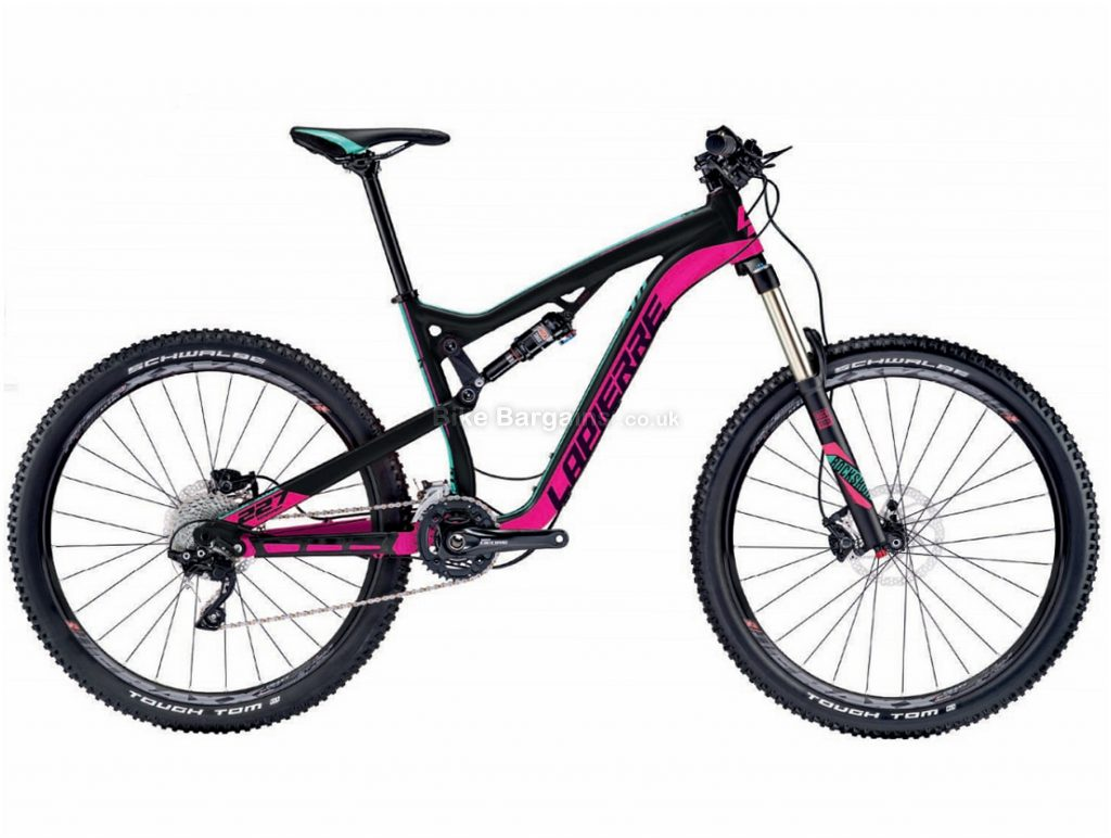 "Lapierre Zesty XM 227 Ladies 27.5"" Alloy Full Suspension Mountain Bike 2017 S, Black, Pink, Alloy, Full Suspension, 27.5"", 20 Speed"