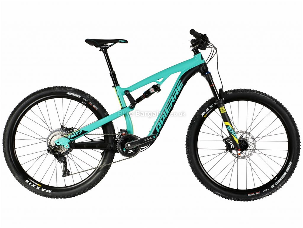 "Lapierre Zesty XM 427 27.5"" Alloy Full Suspension Mountain Bike 2017 S, ex-demo, Turquoise, Black, Alloy, Full Suspension, 27.5"", 22 Speed"