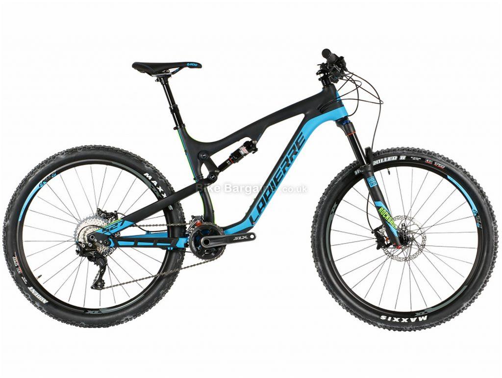 """Lapierre Zesty XM 527 27.5"""" Carbon Full Suspension Mountain Bike 2017 L, Black, Blue, Carbon, Full Suspension, 27.5"""", 22 Speed"""