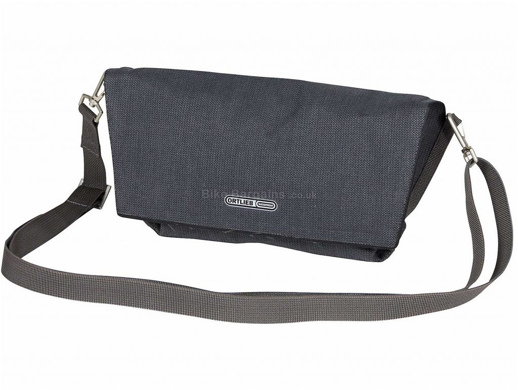 Ortlieb Velo-Pocket Handlebar Bag Grey, One Size, 2.5 Litres, 400g