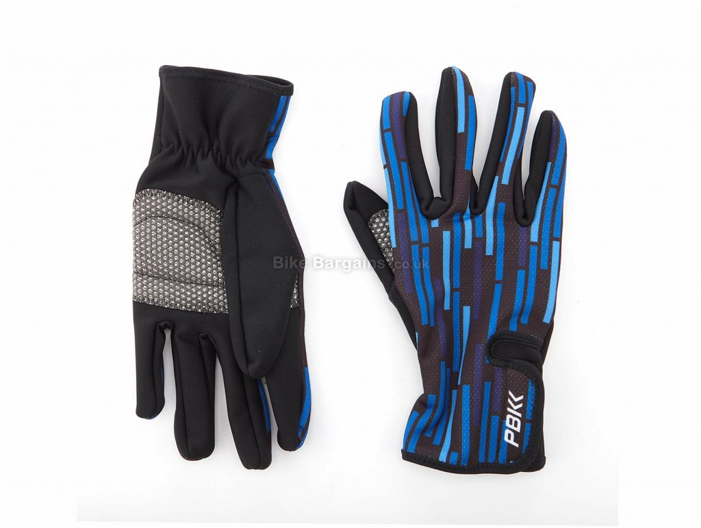 PBK Vello Winter Gloves M,L, Blue, Full Finger