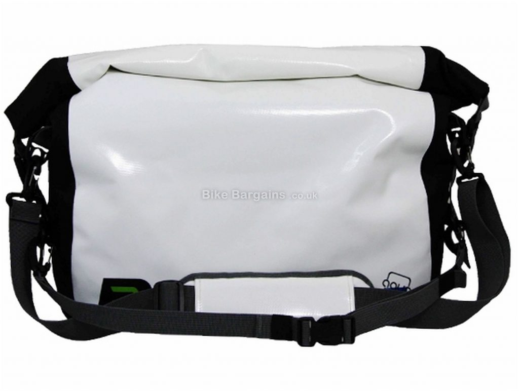 Polaris Aquanought Waterproof Courier Bag One Size, White, Black, 640g, 20 Litres