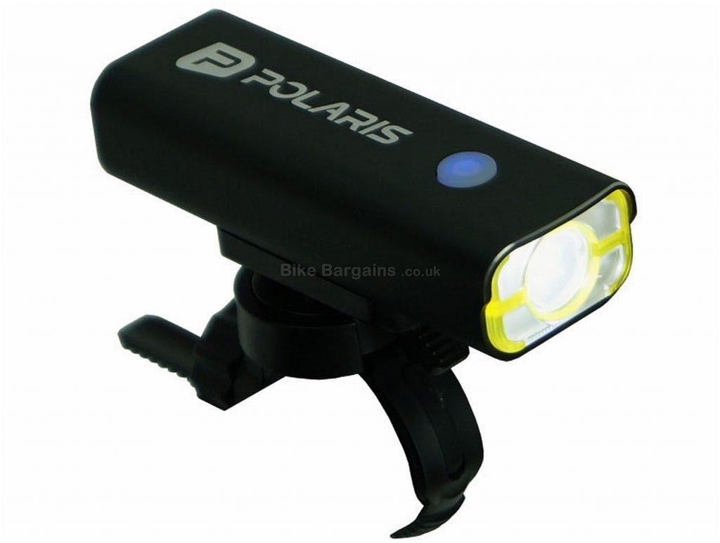 Polaris Navigator 800 Lumens Rechargeable Front Light Black, Front, 800 Lumens, USB Rechargeable