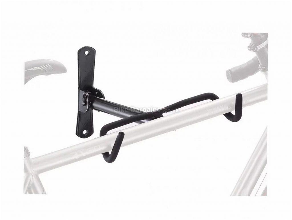 Ribble Wall Hanger Bike Storage Black, One Size, Steel