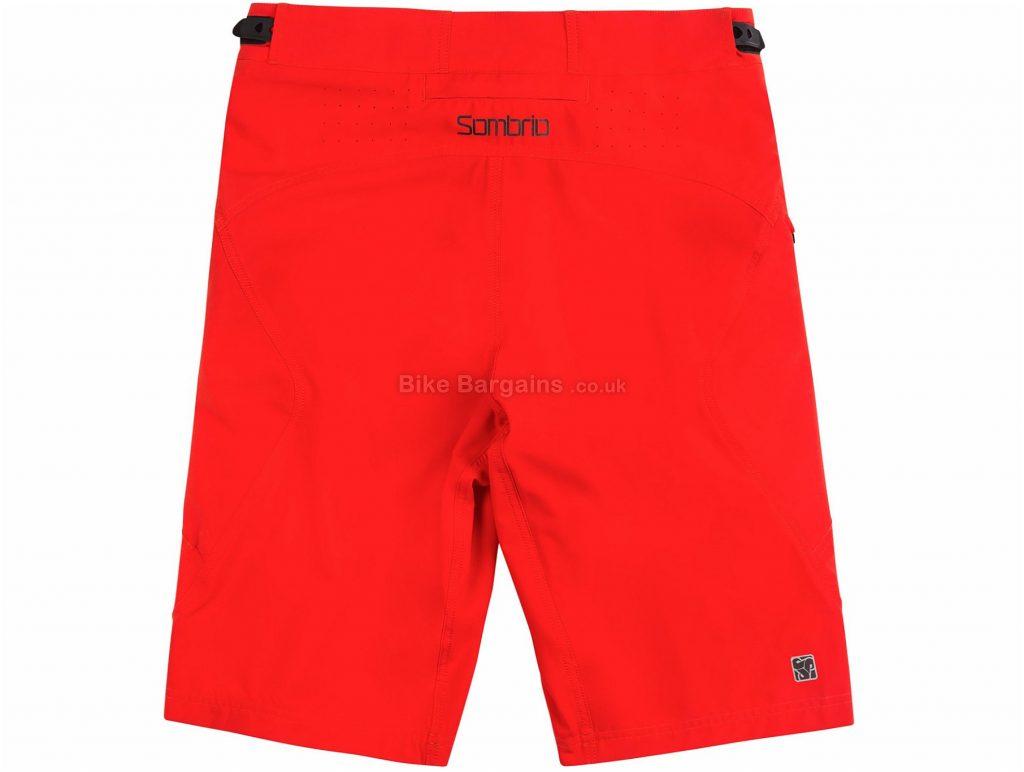 Sombrio Highline MTB Baggy Shorts 2017 S, Orange, Baggy, Polyester