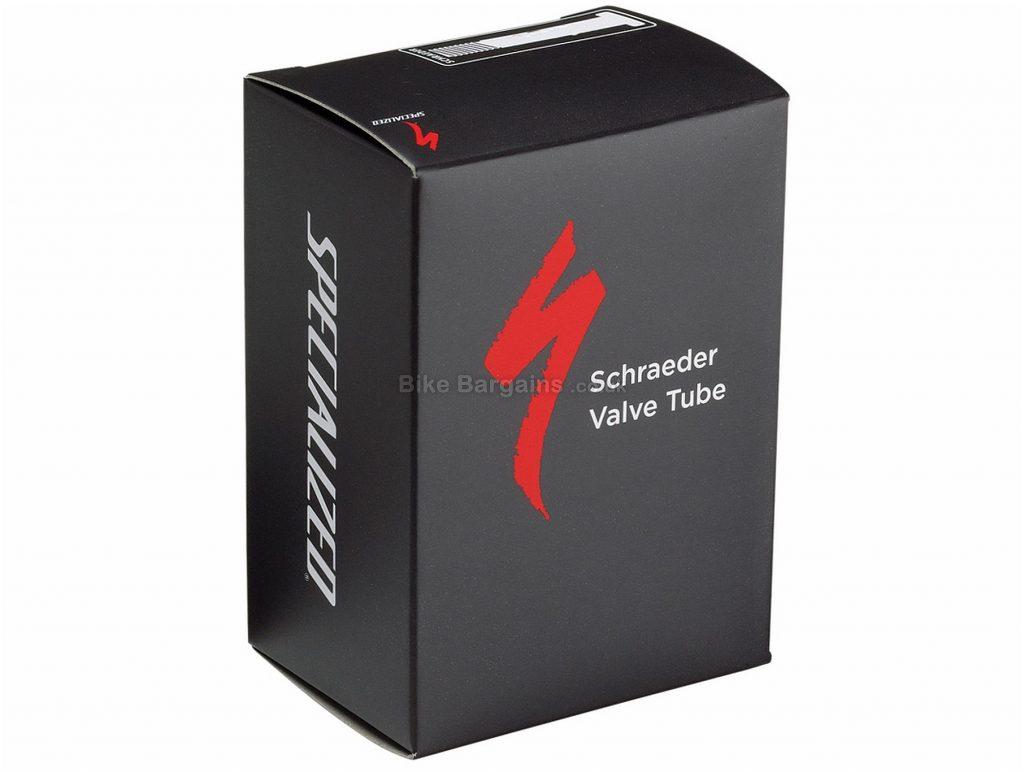 """Specialized 26 inch Schrader Inner Tube 26"""", Black, 2.4"""", 3.0"""", Schrader"""