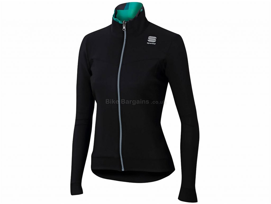 Sportful Ladies Primavera Switch Thermal Jacket S, Black, Long Sleeve