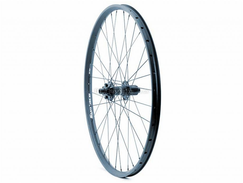 """Syntace W30 MX 27.5"""" Rear MTB Wheel 27.5"""", Black, White, Alloy, Disc, 6 bolt, 9,10,11 speed, 1710g (probably for the pair)"""
