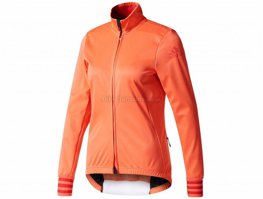 adidas Ladies Adistar Winter Long Sleeve Jersey L, Pink, Long Sleeve