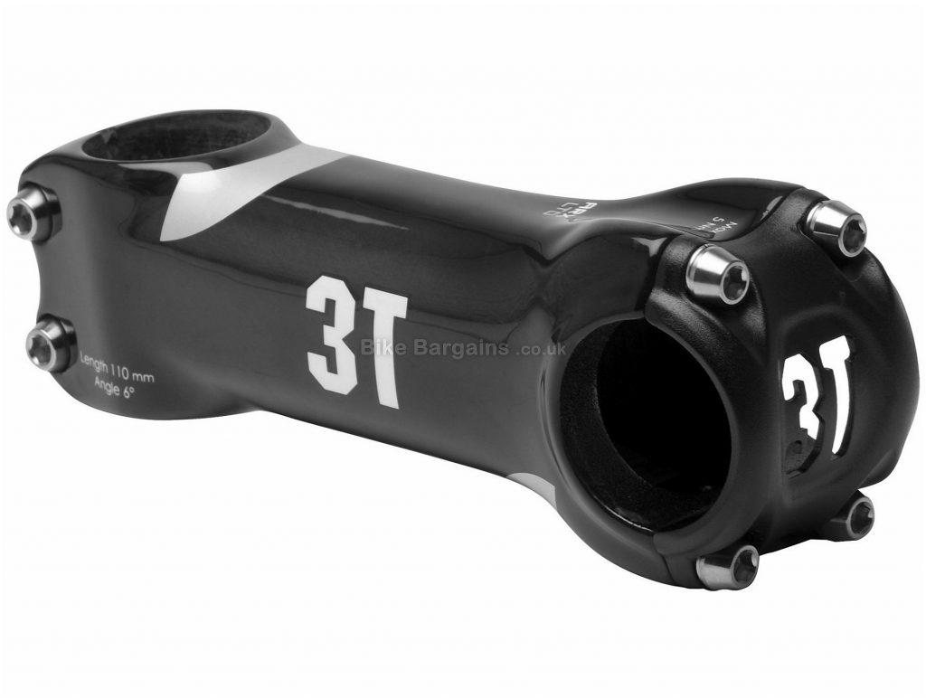 3T Arx LTD Carbon Road Stem 110mm, Black, 31.8mm, Carbon, 118g