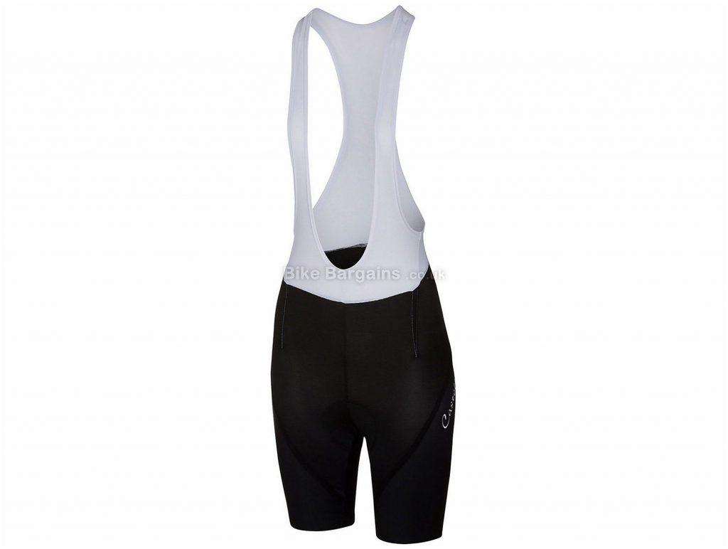 Castelli Magnifica Ladies Bib Shorts XS, Black, White