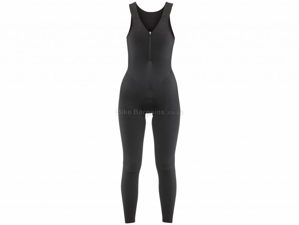 De Marchi Ladies Torino Thermal Bib Tights 2018 M, Black