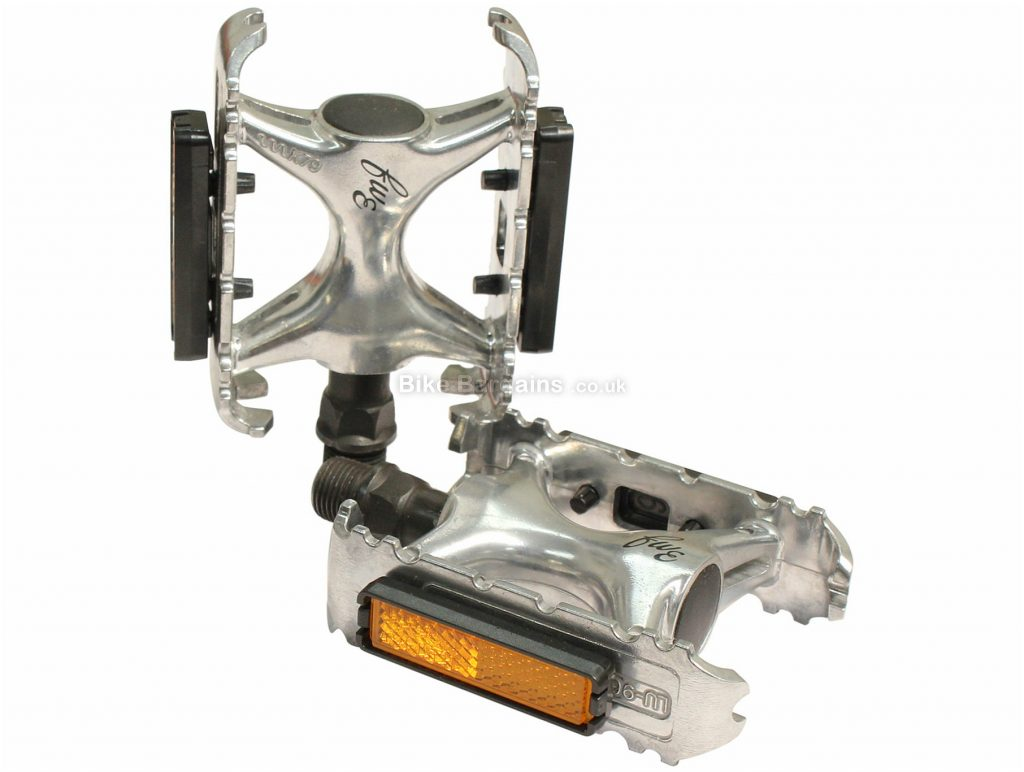 """FWE Hybrid Alloy Pedals Silver, Alloy, 9/16"""""""