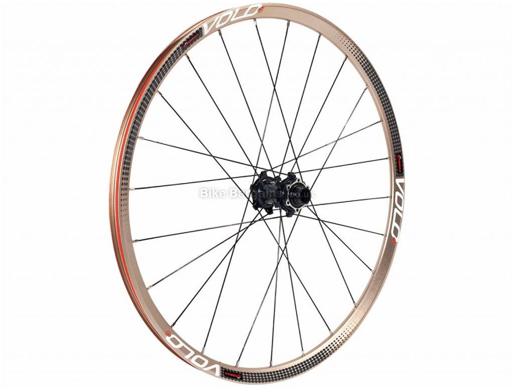 "Formula Volo XC Light Alloy Front MTB Wheel 26"", 29"", Black, front, disc, alloy"