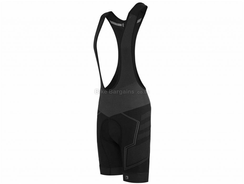 Funkier Potenza BS-6005 C14 Bib Shorts XL,XXL, Black, Grey