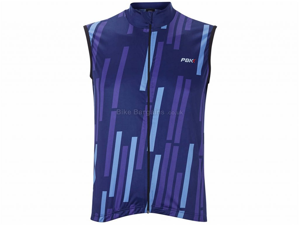 PBK Vello Gilet L, Red, Blue, Purple