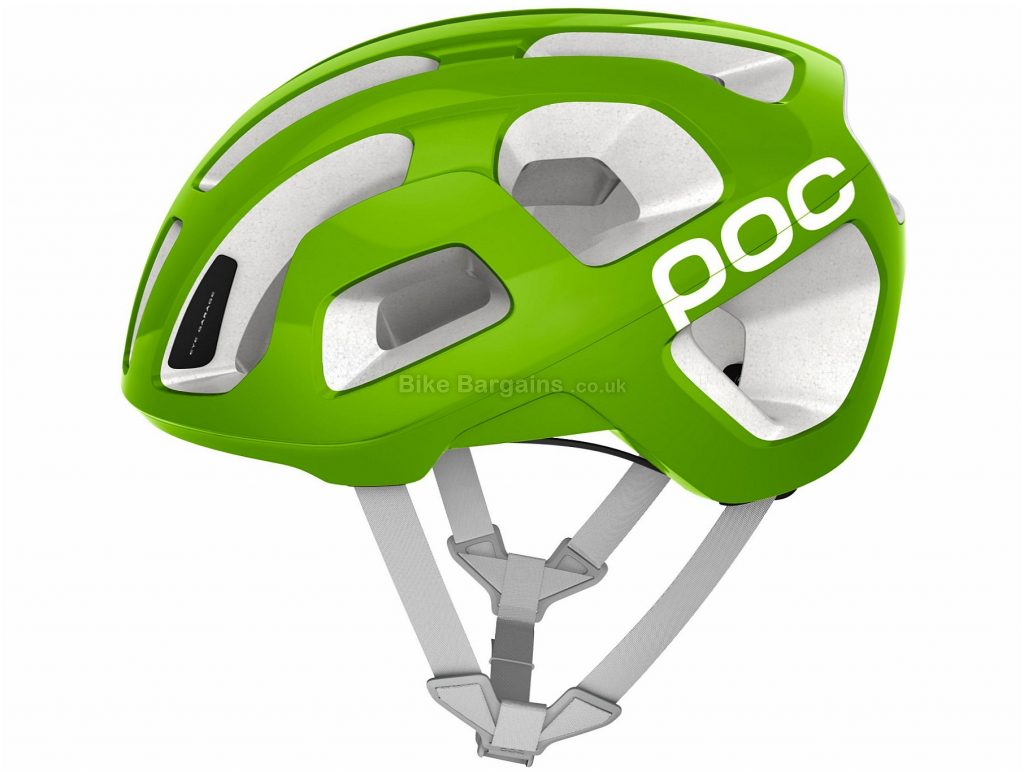 POC Cannondale Octal Raceday Helmet 2018 S, Green, 195g, 21 vents