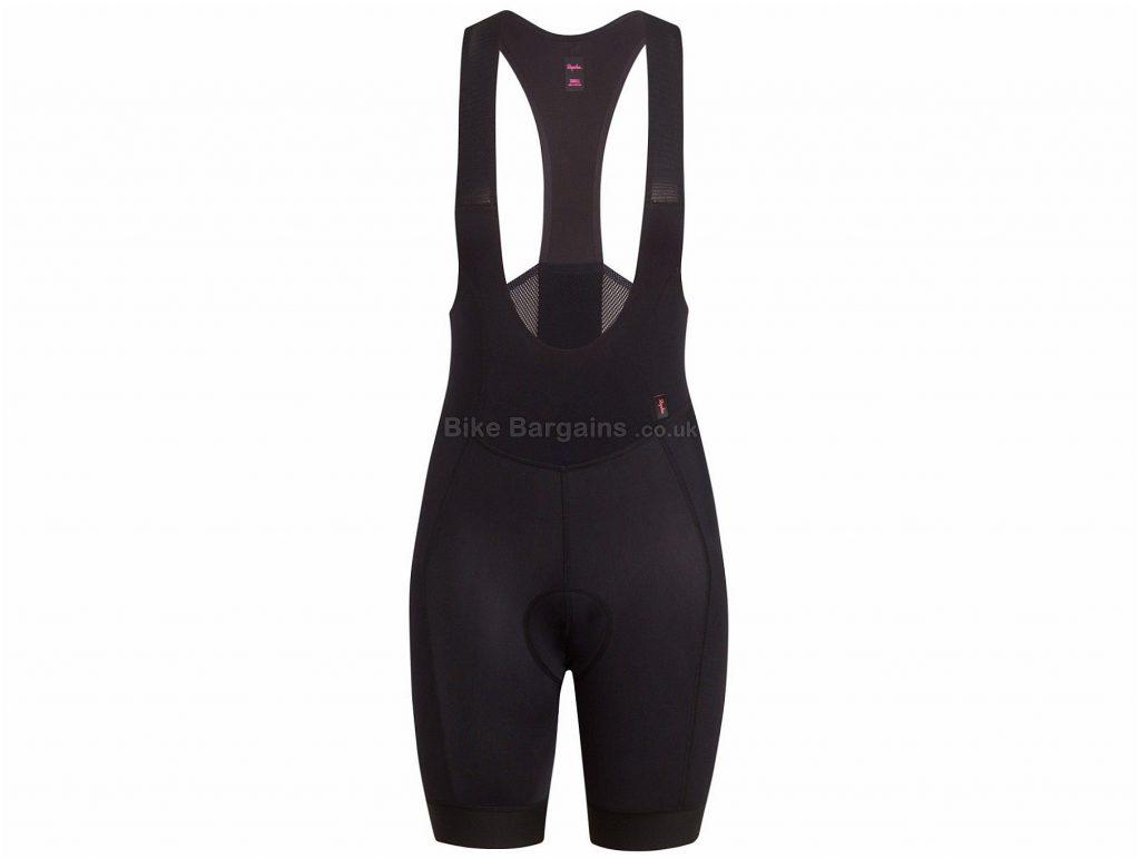 Rapha Ladies Souplesse Thermal Bib Shorts L,XL, Black