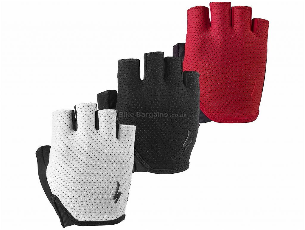 Specialized Grail Mitts 2017 XL, Red, Black, White, Mitts