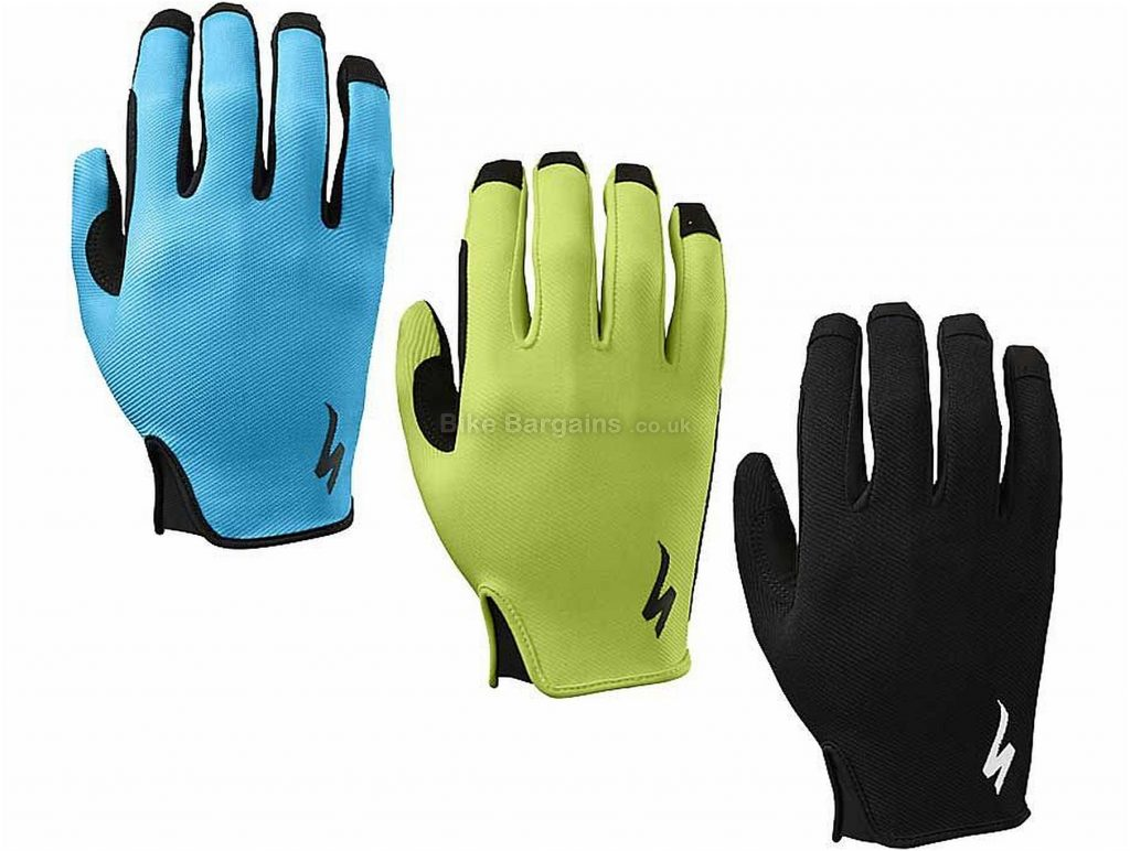 Specialized Lodown Full Finger Gloves 2018 XXL, Green, Full Finger