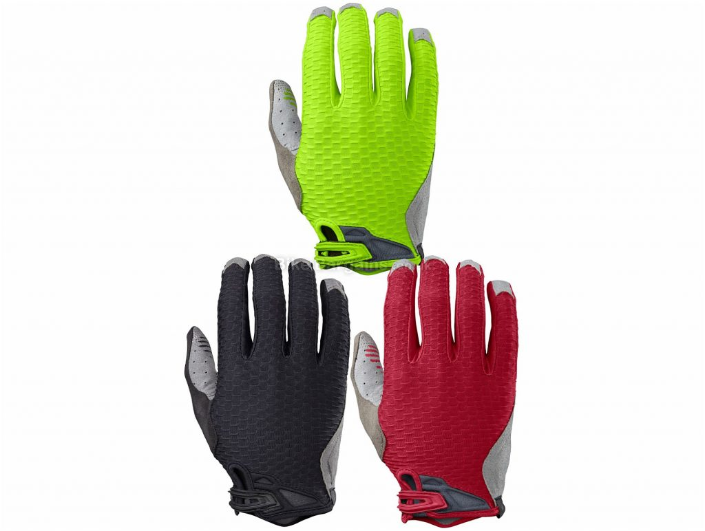 Specialized Ridge Trail Full Finger Gloves M,L, Green, Red, Full Finger