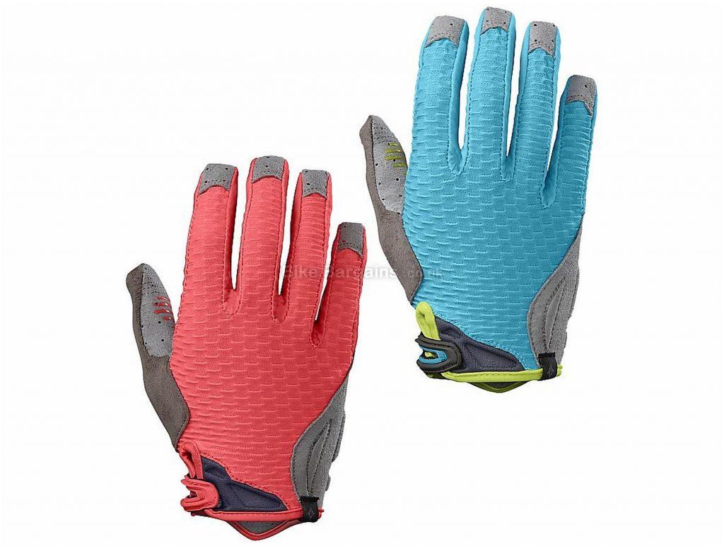 Specialized Ridge Trail Ladies Full Finger Gloves 2017 L, Pink, Full Finger