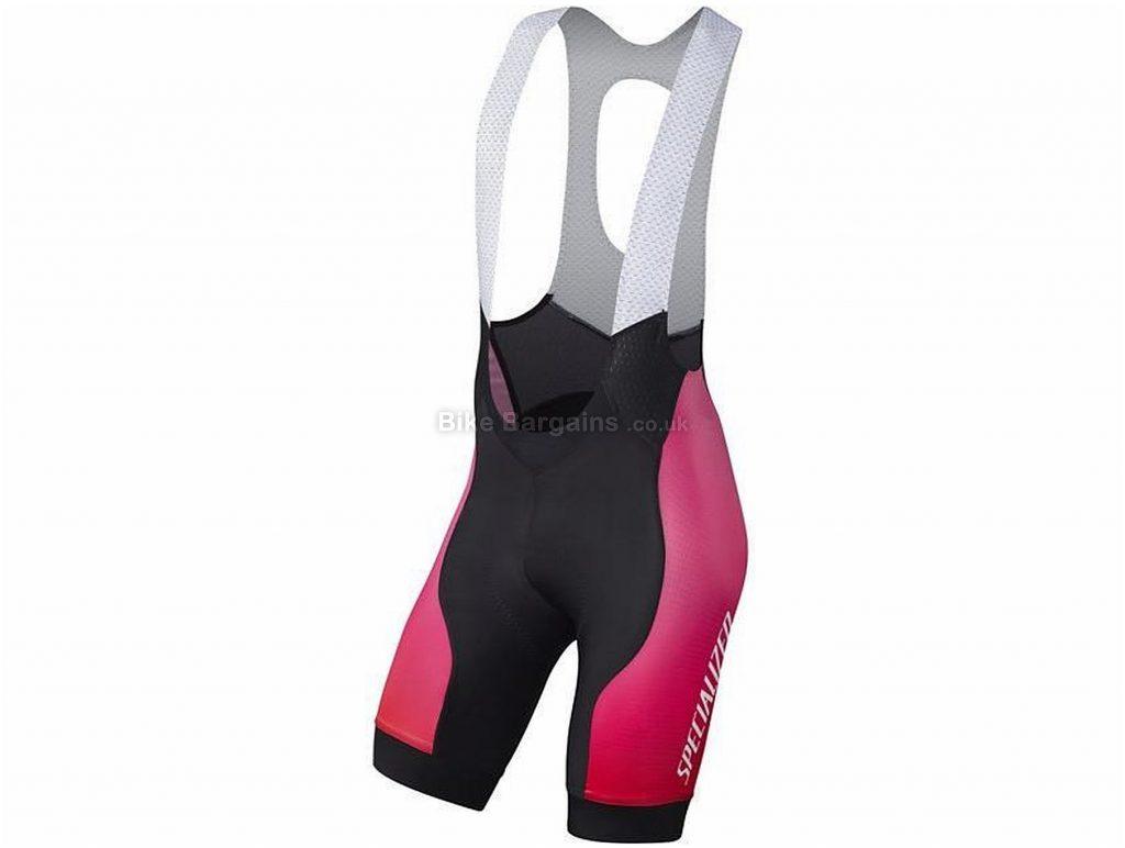 Specialized SL Pro Bib Shorts S,M,L,XL,XXL, Black, Red, Pink