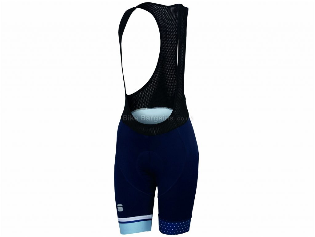 Sportful Diva Ladies Bib Shorts XS, Black, Turquoise