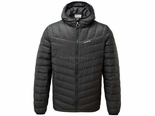 Craghoppers Brompton Jacket XXL, Black, Green