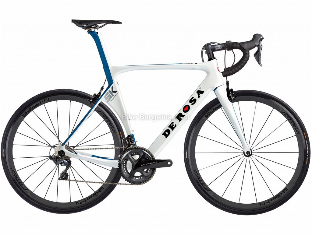 De Rosa SK 8000 Team35 Carbon Road Bike 2018 54cm, Red, Blue, Carbon, 22 Speed, Calipers