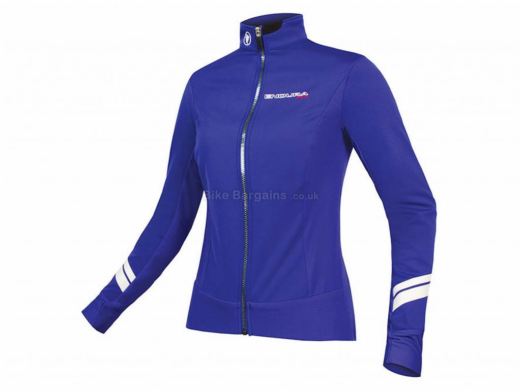 Endura Ladies Pro Sl Thermal Windproof Jacket S, Blue