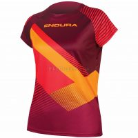 Endura SingleTrack Print Ladies Short Sleeve Jersey