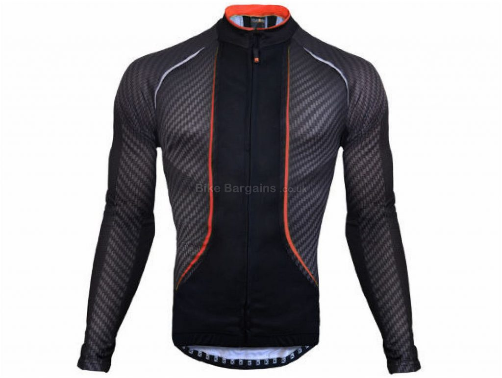 Funkier Airlite Long Sleeve Jersey XXL, Black, Red, Yellow, Long Sleeve