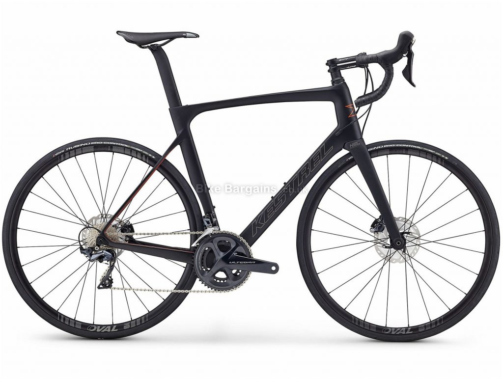 Kestrel RT-1100 Ultegra Disc Carbon Road Bike 2019 52cm, Black, Grey, Carbon, 22 Speed, Disc, 8.2kg