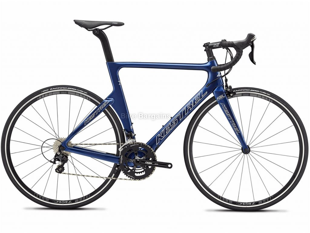 Kestrel Talon X 105 Carbon Road Bike 2019 48cm, Blue, Carbon, 22 Speed, Calipers, 8.33kg