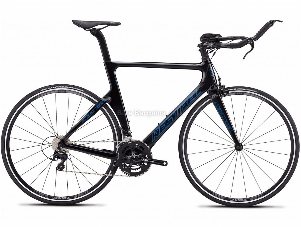 Kestrel Talon X 105 TR Tri Carbon Road Bike 2019 48cm, Black, Carbon, 22 Speed, Calipers, 8.65kg