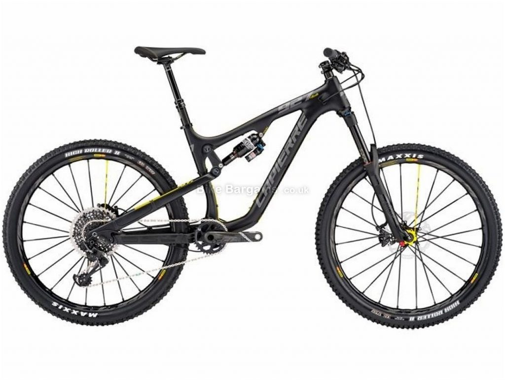 "Lapierre Zesty AM 927 27.5 Carbon Full Suspension Mountain Bike 2017 L, Black, 27.5"", Carbon, 12 speed, Full Suspension"