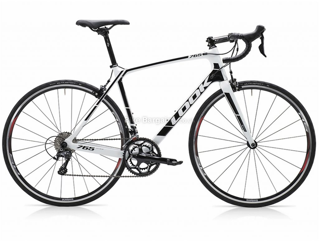Look 765 Optimum Ultegra Mix Carbon Road Bike XS,S,M, White, Black, Carbon, 22 Speed, Calipers