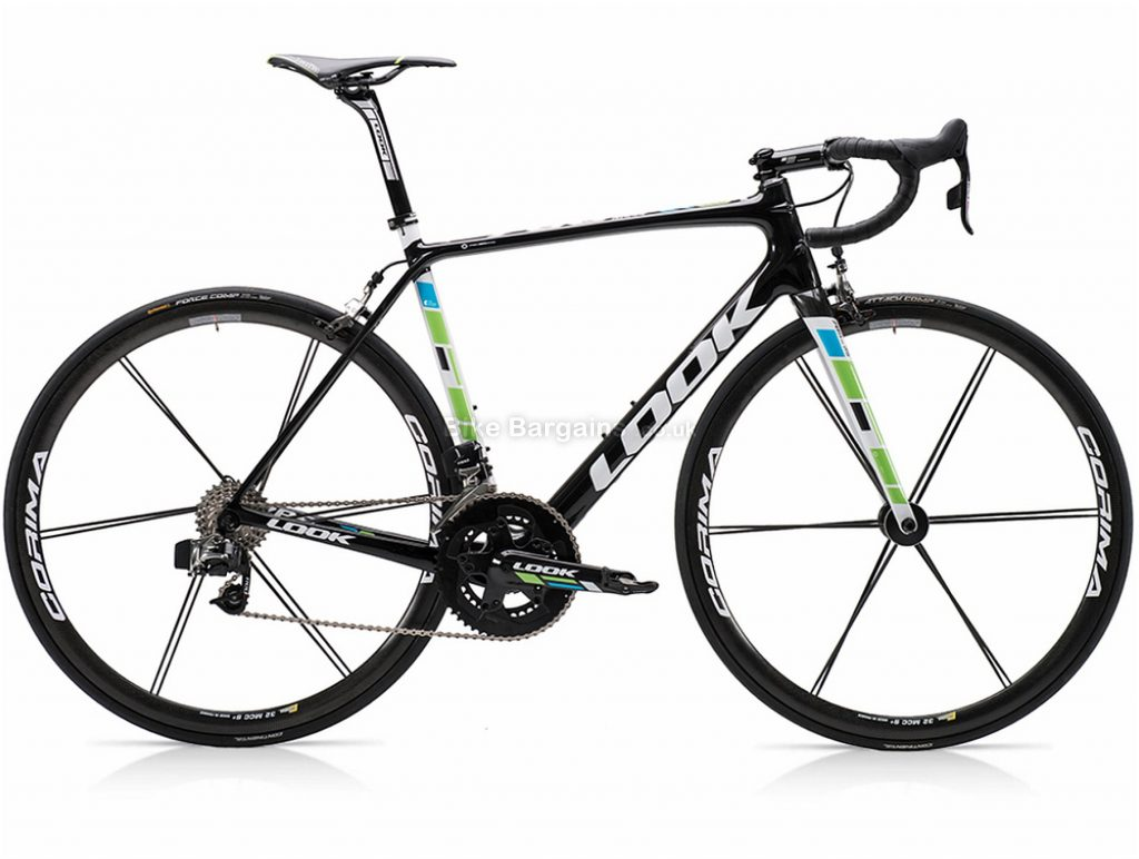 Look 785 Huez RS E-Tap Carbon Road Bike S,L, Black, Carbon, 22 Speed, Calipers