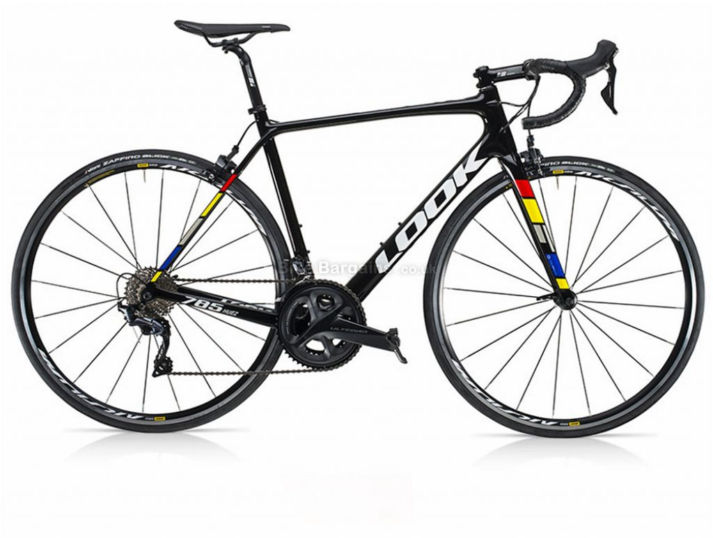Look 785 Huez Ultegra Carbon Road Bike XL, Black, Carbon, 22 Speed, Calipers