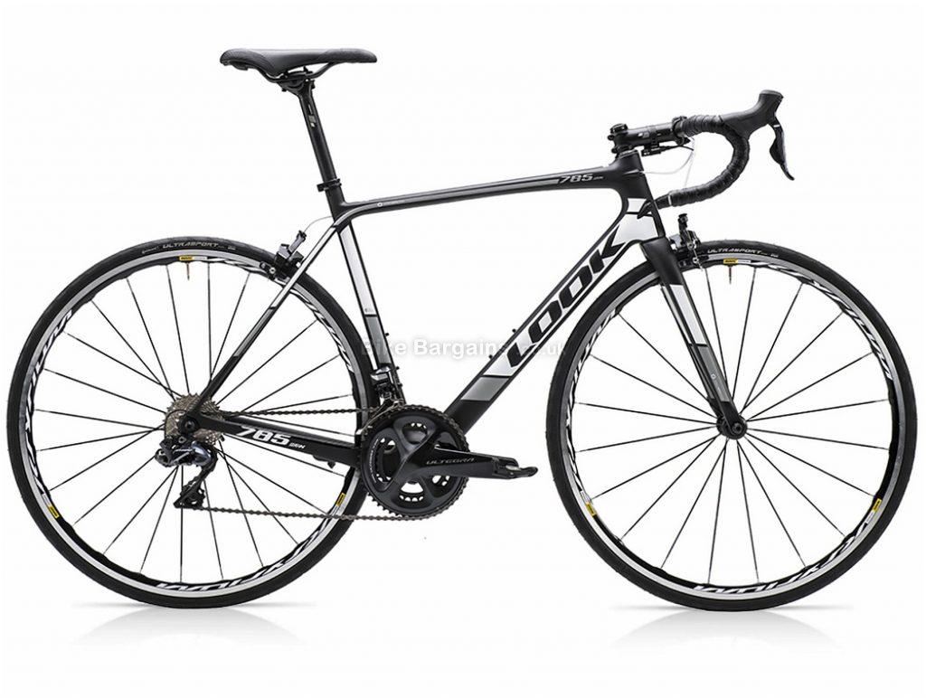 Look 785 Huez Ultegra Di2 Carbon Road Bike S, Black, White, Carbon, 22 Speed, Calipers