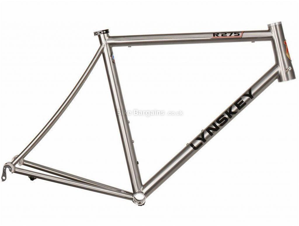 Lynskey R275 Titanium Caliper Road Frame 2018 47cm, 56cm, Silver, 700c, Caliper Brakes