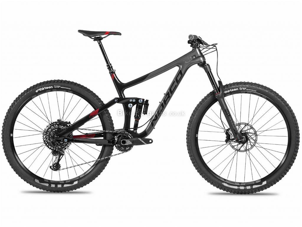 "Norco Range C2 29er Carbon Full Suspension Mountain Bike 2018 M, Black, 29"", Carbon, 12 speed, Full Suspension"
