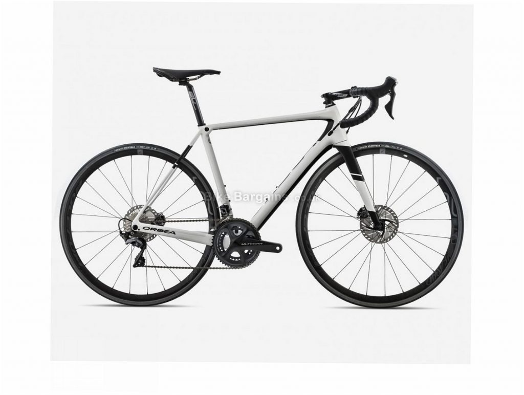 Orbea Orca M20 Team-D Disc Carbon Road Bike 2018 53cm, White, Black, Carbon, 22 Speed, Disc