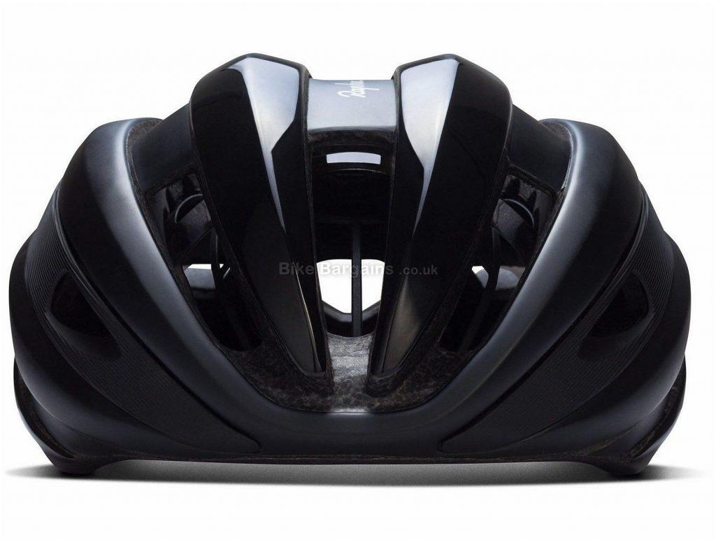 Rapha US Road Helmet S, Black, Blue, MIPS, 295g, 17 vents
