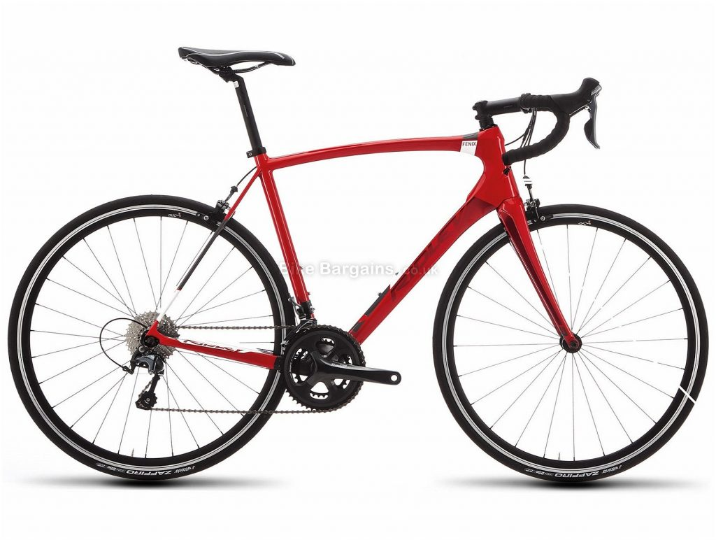 Ridley Fenix C Tiagra Carbon Road Bike 2018 XXS, Red, Carbon, 22 Speed, Calipers