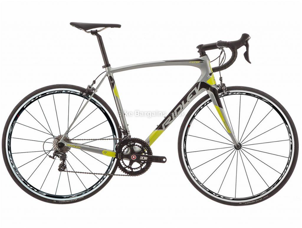 Ridley Fenix SL Ultegra Rotor Carbon Road Bike 2017 XXS, Silver, Carbon, 22 Speed, Calipers