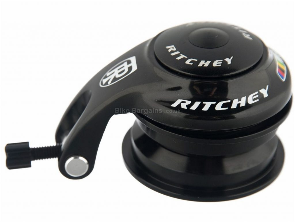 "Ritchey WCS PressFit Headset Black, 1 1/8"", Alloy, Carbon, Semi-Integrated"