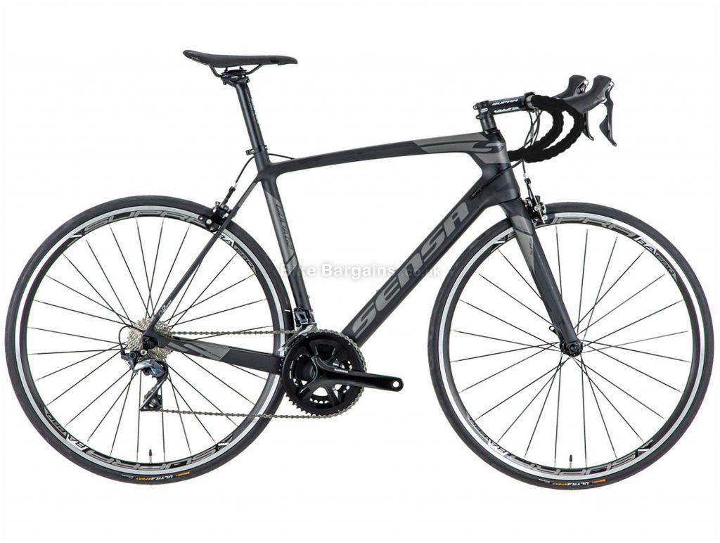 Sensa Giulia G2 Ultegra Mix Carbon Road Bike 2018 55cm, Grey, Carbon, 22 Speed, Calipers