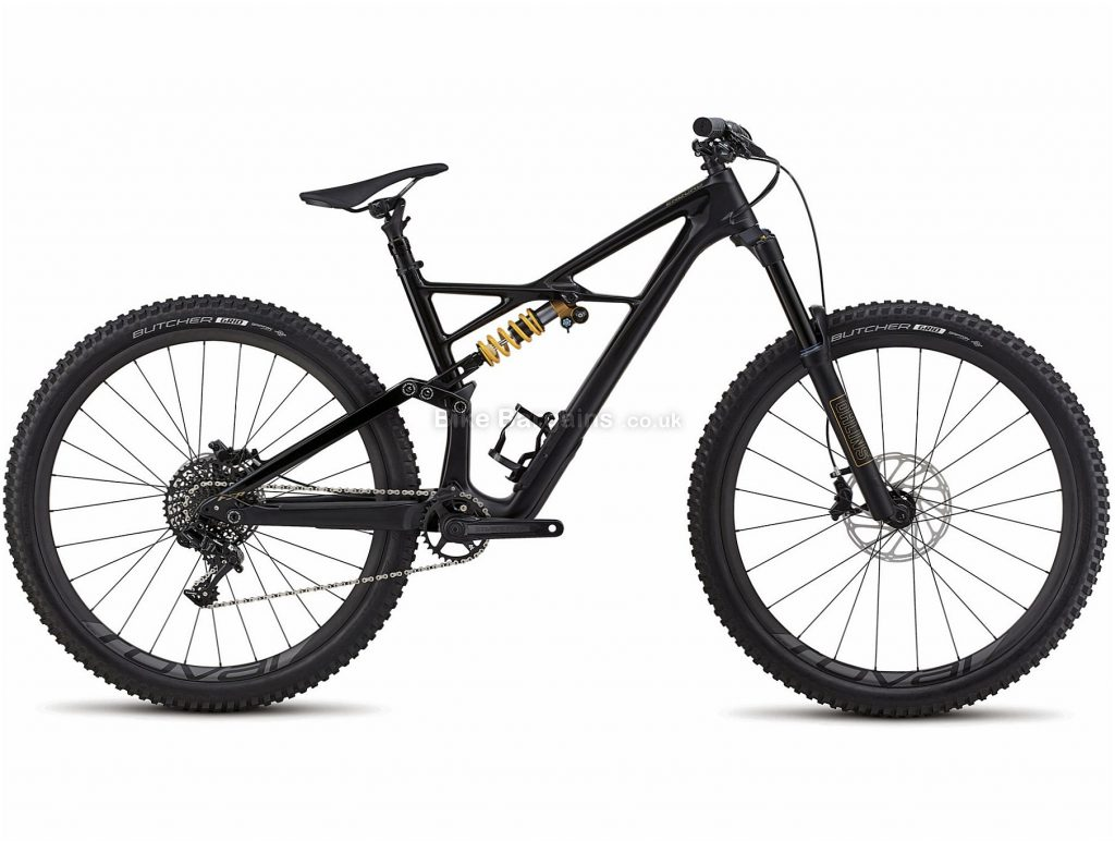"Specialized Enduro Coil 29 Carbon Full Suspension Mountain Bike 2018 S, Black, 29"", Carbon, 11 speed, Full Suspension"